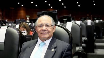 Juan Ramiro Robledo, diputado por Morena, presidente de la Comisión de Puntos Constitucionales