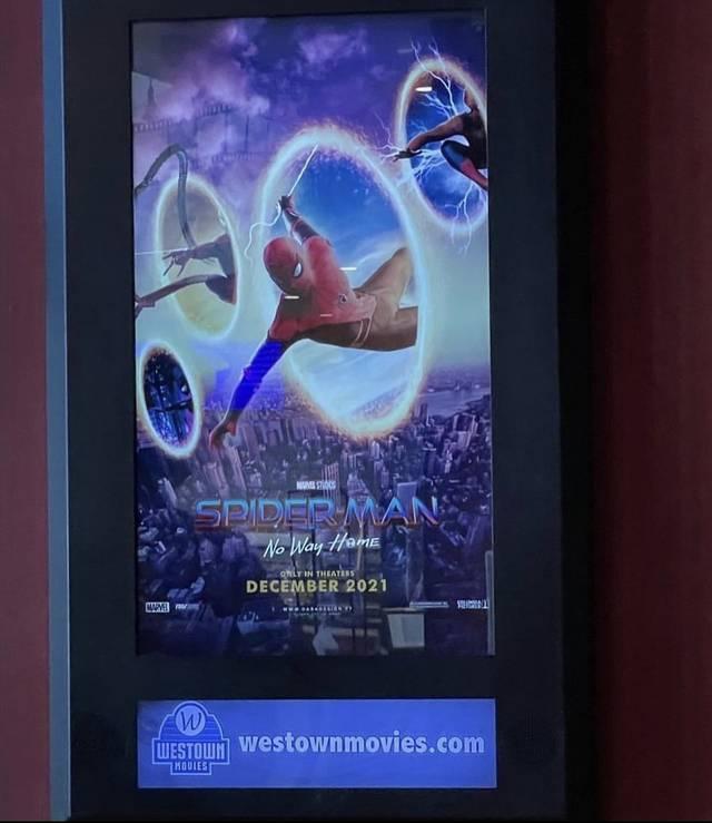 Spider-Man: No Way Home pósters falsos