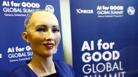 'Sophia', la robot humanoide.