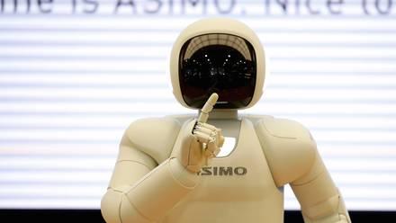 El robot 'Asimo' de Honda.