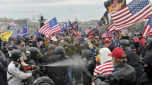 Estados Unidos: 4 policías se han suicidado tras el asalto al Capitolio