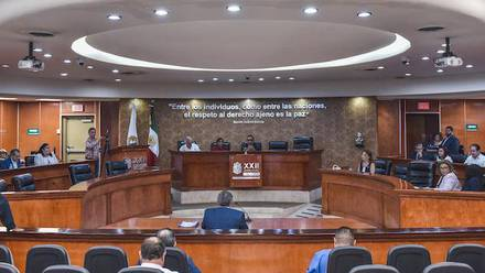 Pleno del Congreso de Baja California.