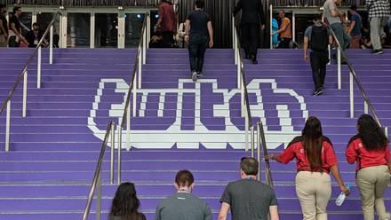 Logo de Twitch en E3 2019