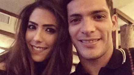 Daniela Basso y Raúl Jiménez