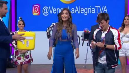 Vanessa Claudio regresa a 'Venga la Alegría'