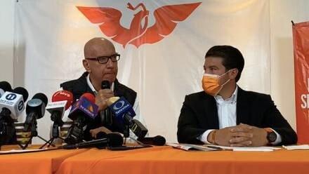 Dante Delgado y Samuel García