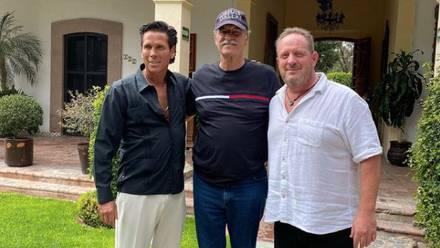 Roberto Palazuelos, Vicente Fox y Marcus Dantus