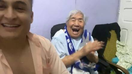 Festejo de abuelita de 93 años se hace viral