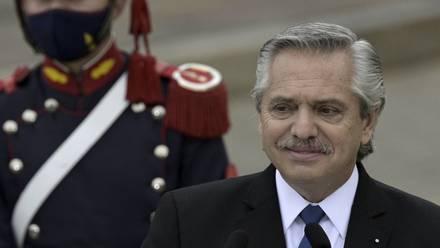 Alberto Fernández, presidente de Argentina.