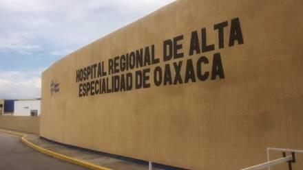 Los 2 casos sospechosos de hongo negro se encuentran internados en el Hospital Regional de Alta Especialidad de Oaxaca