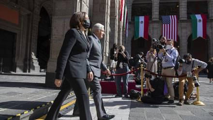 Kamala Harris no cuestionó a México sobre prensa y organizaciones