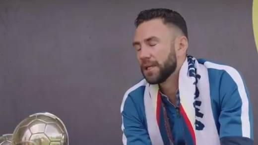 Miguel Layún llora al ser presentado con Club América