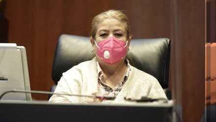 Senadora de Morena Margarita Valdez