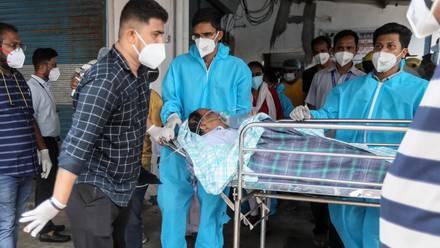 Hospital Vijay Vallabh en la India