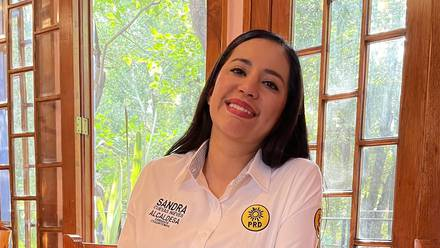 Sandra Cuevas del PRI-PAN-PRD