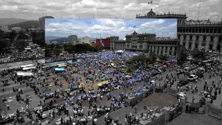 Huelga nacional en Guatemala