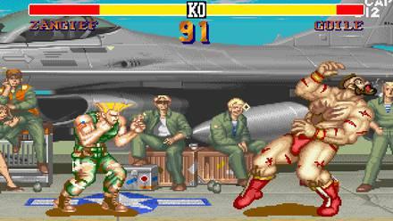 Pelea en Street Fighter II
