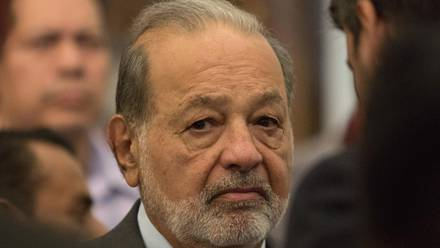 Carlos Slim, presidente del Grupo Carso
