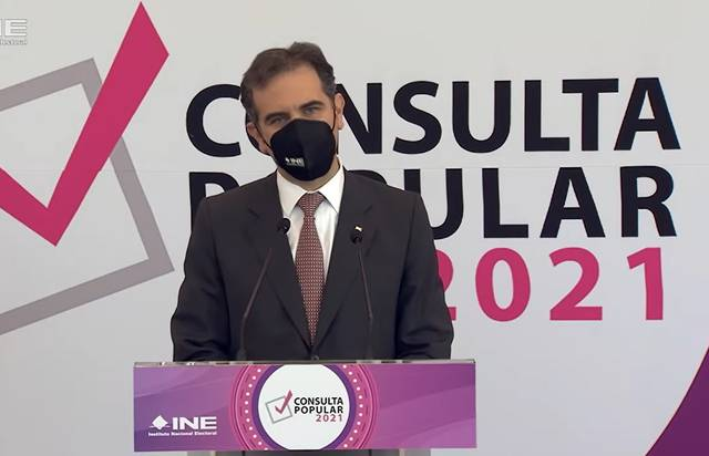 Lorenzo Córdova sobre votación de AMLO en consulta popular