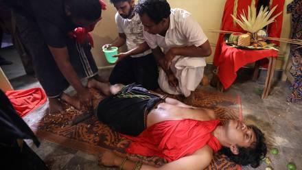 Exorcismo en Sri Lanka