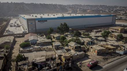 Planta de Amazon en Tijuana