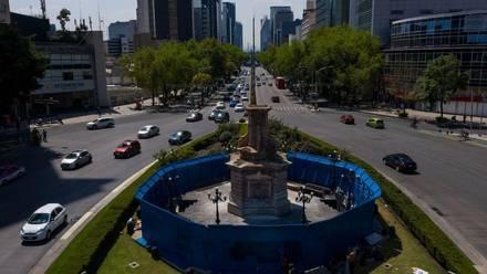 Glorieta de Colón en CDMX