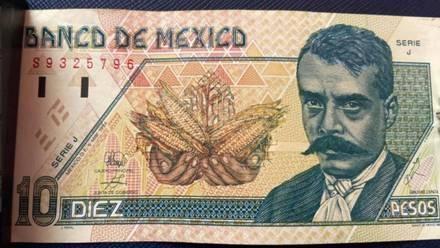 Billete de 10 pesos se vende hasta en 25 mil pesos
