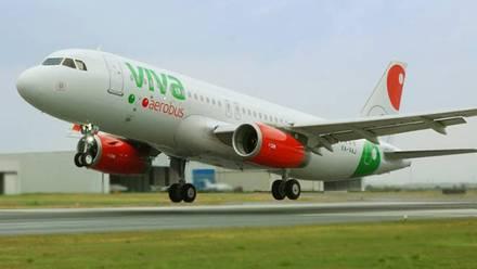 Avión de Viva Aerobus.