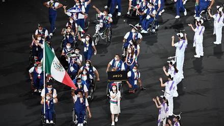 Delegación mexicana en Juegos Paralímpicos de Tokio