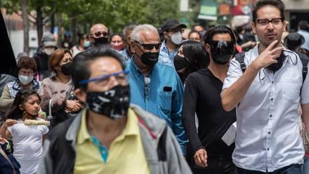 Personas en calles de CDMX