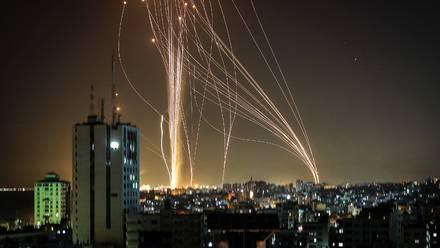 Ataque contra Tel Aviv.