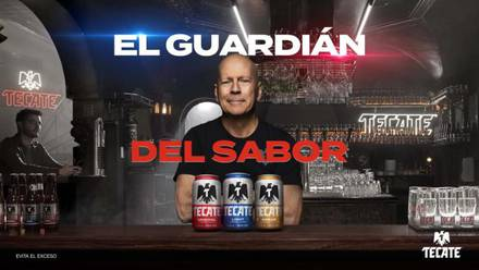 Bruce Willis 'El guardián del sabor'