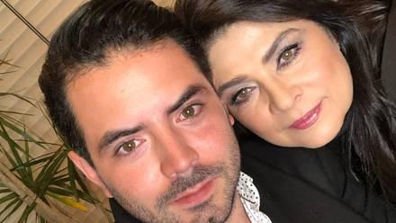 José Eduardo Derbez y Victoria Ruffo
