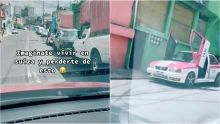 """""""El Lambotsuru"""", un taxi de la CDMX"""