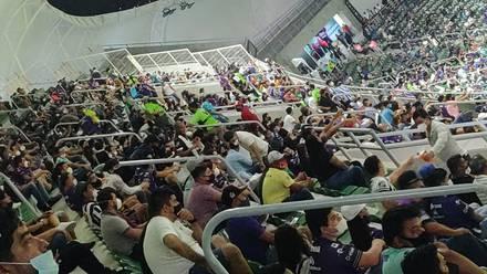 Aforo del Mazatlán vs Rayados