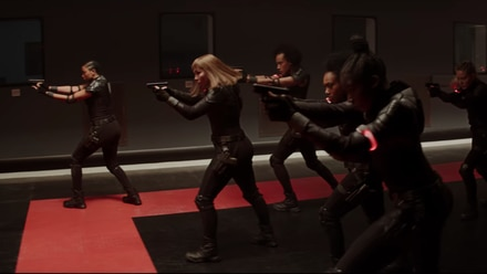 Black Widow Red Room