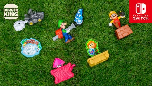 Burger King y Nintendo lanzan figuras de colección