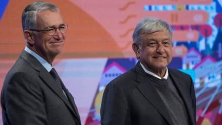 Ricardo Salinas Pliego y Andrés Manuel López Obrador.