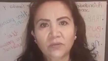 Maestra de preescolar en San Luis Potosí