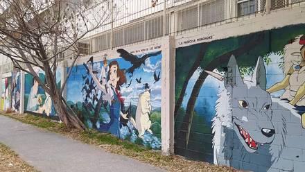 Murales Ghibli
