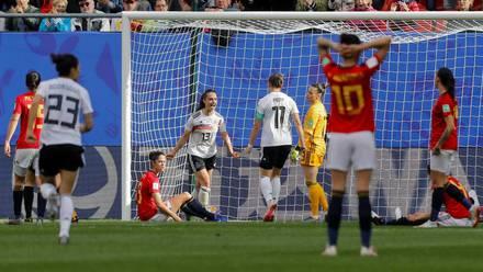 España cayó de manera dolorosa ante Alemania