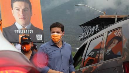 Samuel García, candidato de MC, al gobierno de NL.