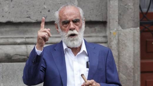 Diego Fernández de Cevallos pide que FGR dé seguimiento a su denuncia contra AMLO