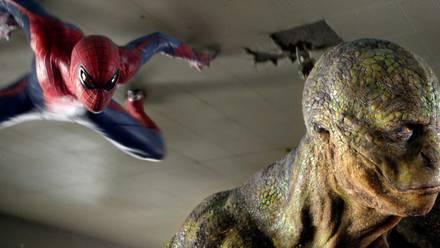 Lagarto y Spider-Man