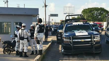 Guardia Nacional atiende riña en penal de Tabasco