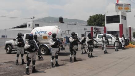 Guardia Nacional vigila gaseras