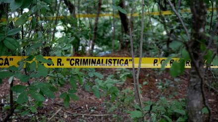 Fosa clandestina en México