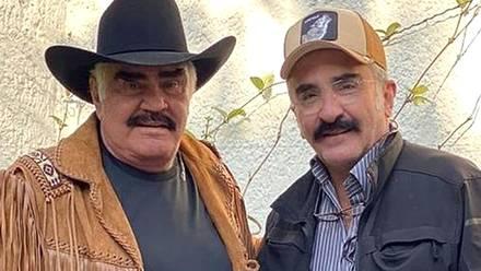 Vicente Fernández y Vicente Fernández Jr.