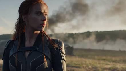 Scarlett Johansson en la película de 'Black Widow'