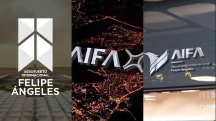 Logos ganadores del Aeropuerto Felipe Ángeles